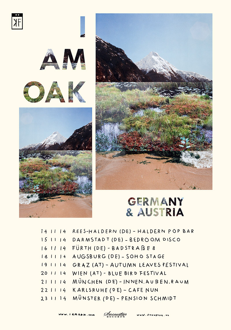 I am Oak, Germany and Austria tour